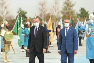 استقبال ویژه اردوغان از الکاظمی